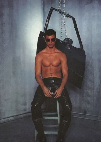 hot men in leather pants colin egglesfield