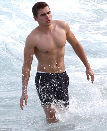 dave franco hot and wet in the beach