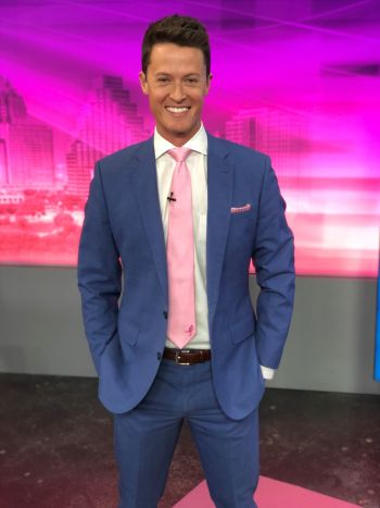 david yeomans hot in a suit - austin kxan meteorologist