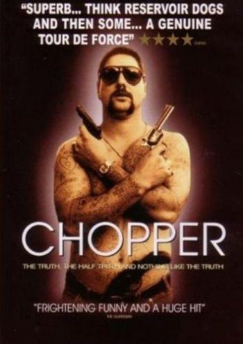 eric bana shirtless in chopper 2000