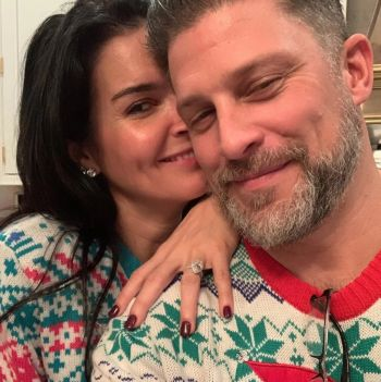 greg vaughan angie harmon engaged