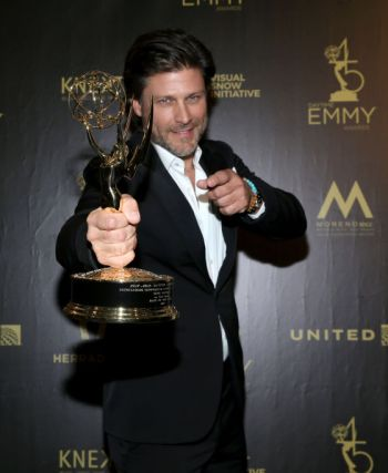 greg vaughan emmy award