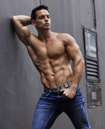 luke newton hot engineer and male model