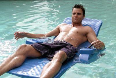 hot men in bed colin egglesfield - pool in carnal innocence