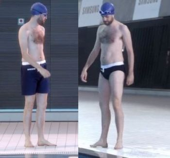 jack whitehall shirtless speedo