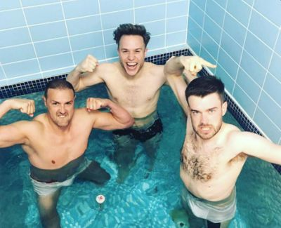 jack whitehall shirtless with olly murs and paddy mcguinness