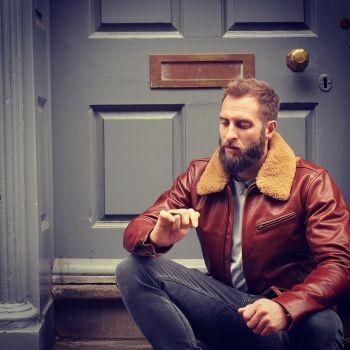 james stott magic marine leather jacket