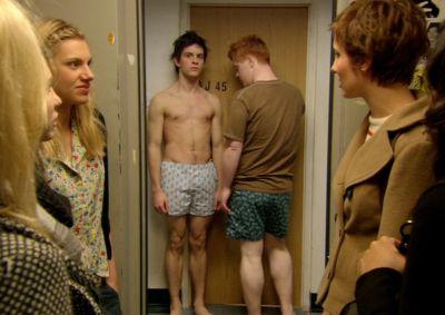 jonathan bailey underwear - boxer shorts - off the hook tv series as danny gordon