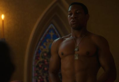 jonathan majors shirtless body lovecraft country