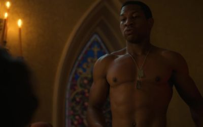 jonathan majors shirtless body lovecraft country2