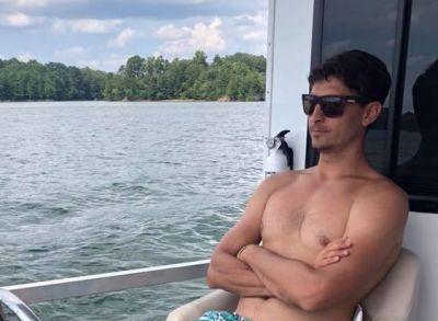 jordan steele shirtless meteorologist