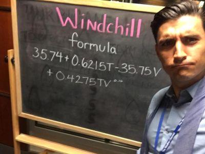 jordan steele weather channel explaining windchill