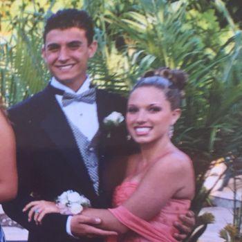 jordan steele wife dani highley - high school prom