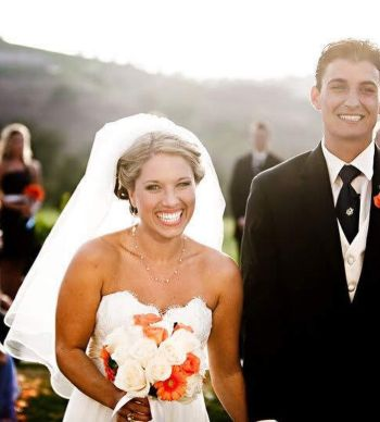 jordan steele wife dani highley - wedding