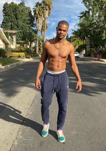 king bach hot guys in sweatpants