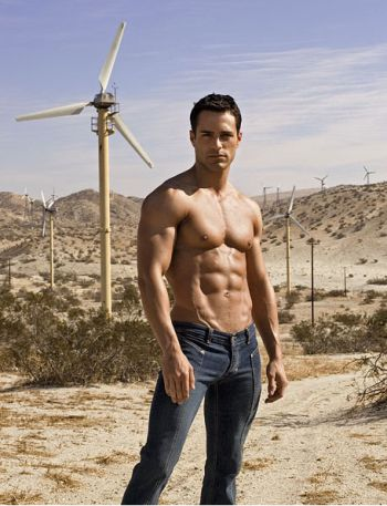 marco dapper shirtless in jeans