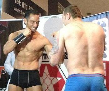 paul rothmann underwear boxer briefs - weigh in pre fight
