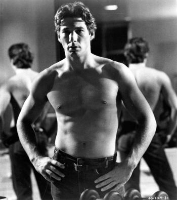 richard gere shirtless american gigolo