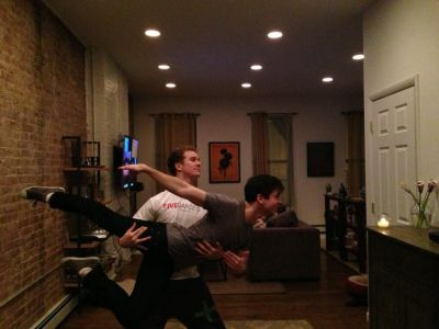 ryan steele boyfriend matt doyle - dancing