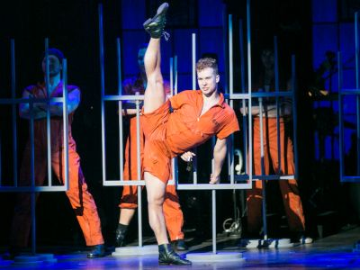 ryan steele hot male dancer chicago cell block tango