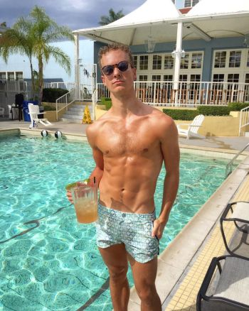 ryan steele shirtless in shorts