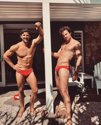 timothy robards luke cook aussie hunks in speedos