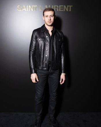 tom mercier model - leather jacket