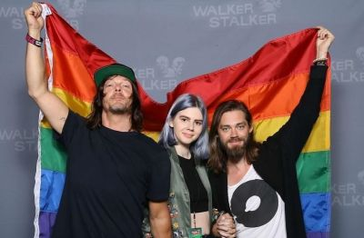 tom payne gay ally with norman reedus