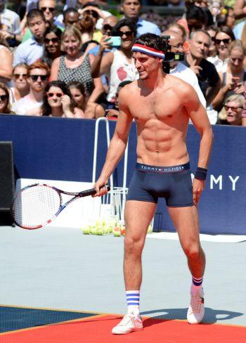 underwear as outerwear - tennis tommy hilfiger arthur kulkov