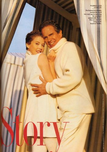 warren beatty annette benning wedding photos