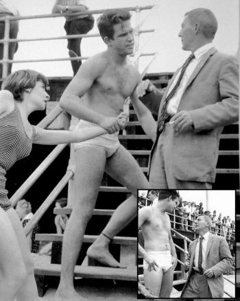 warren beatty underwear - 1957 episode of Suspicion with David Wayne