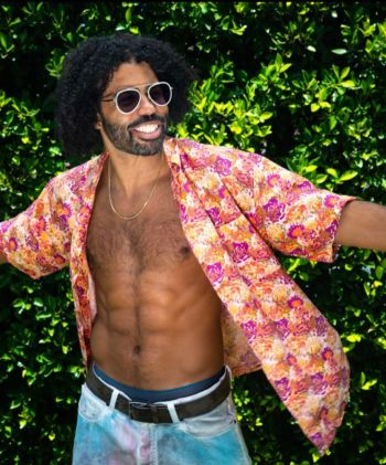 daveed diggs shirtless body sculpted abs