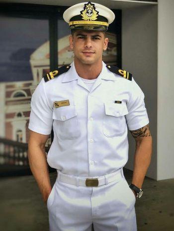 hot navy men - model or real deal