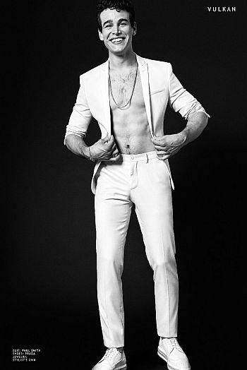 Alberto Rosende shirtless