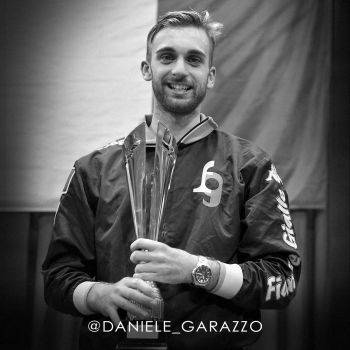 Baume et Mercier Celebrity Brand Ambassadors - daniele garozzo 2016 rio olympics fencing champ