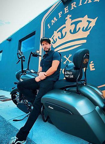 Bayardo De Murguia hot motorcycle hunks