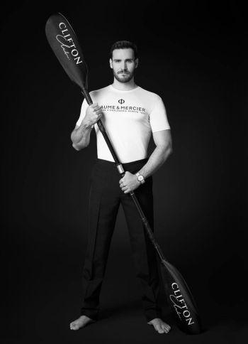 Celebrities With Baume et Mercier Watches - Spanish-born sprint kayaker Saúl Craviotto