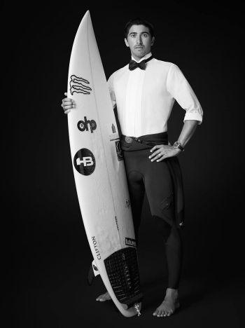 Celebrities With Baume et Mercier Watches - miguel pupo - brazilian pro surfer