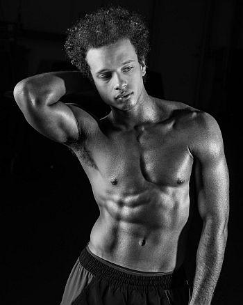 Damon J Gillespie shirtless - tiny pretty things hunk