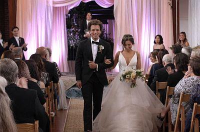 Damon J Gillespie wedding with wife grace