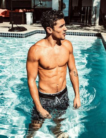 Jack Gilinsky shirtless body