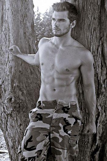 Josh Swickard body abs