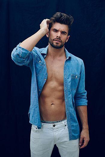 Josh Swickard shirtless body