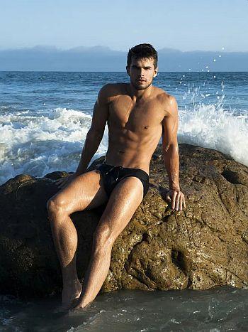 Josh Swickard underwear swimwear model