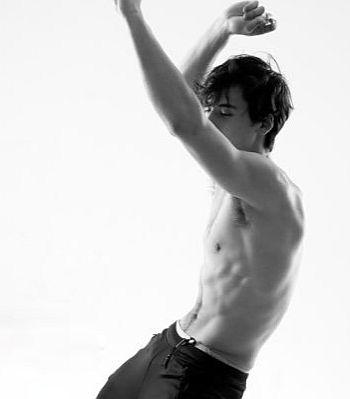 Michael Hsu Rosen shirtless