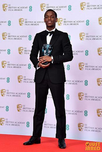Micheal Ward bafta award2