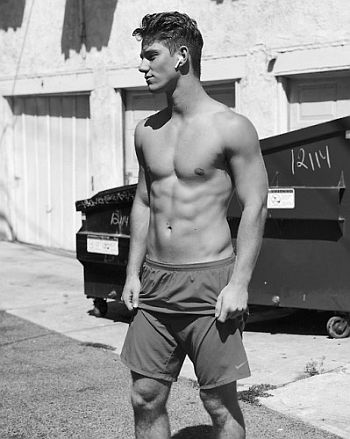 Nico Greetham body hot men in shorts