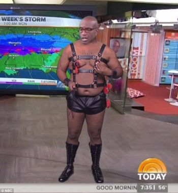 al roker shirtless in leather