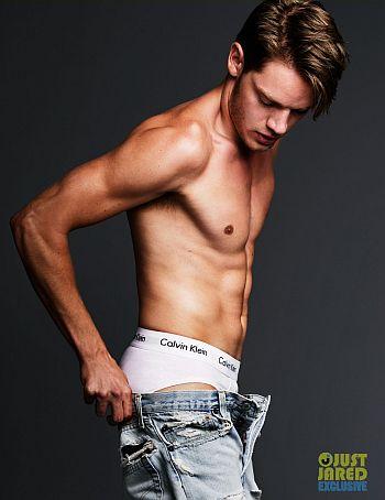 dominic sherwood underwear white briefs