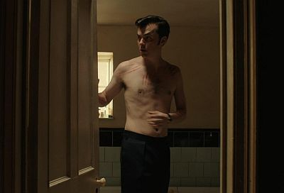 jack bannon shirtless body - pennyworth